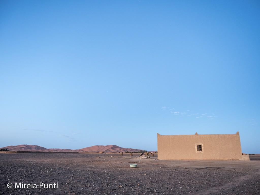 Casa de Said en el Sáhara