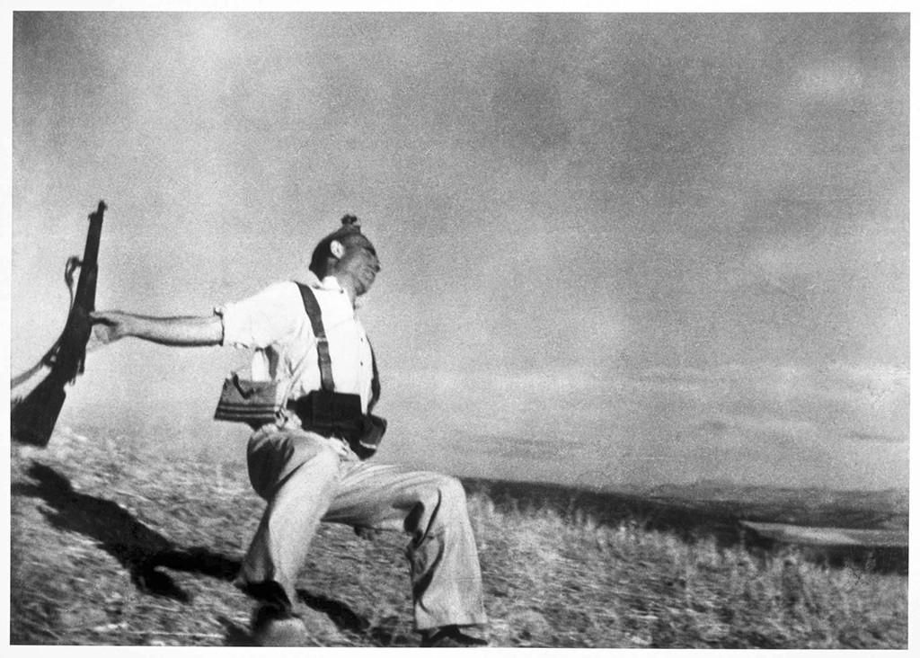 Imagen legendaria Muerte de un miliciano, de Robert Capa