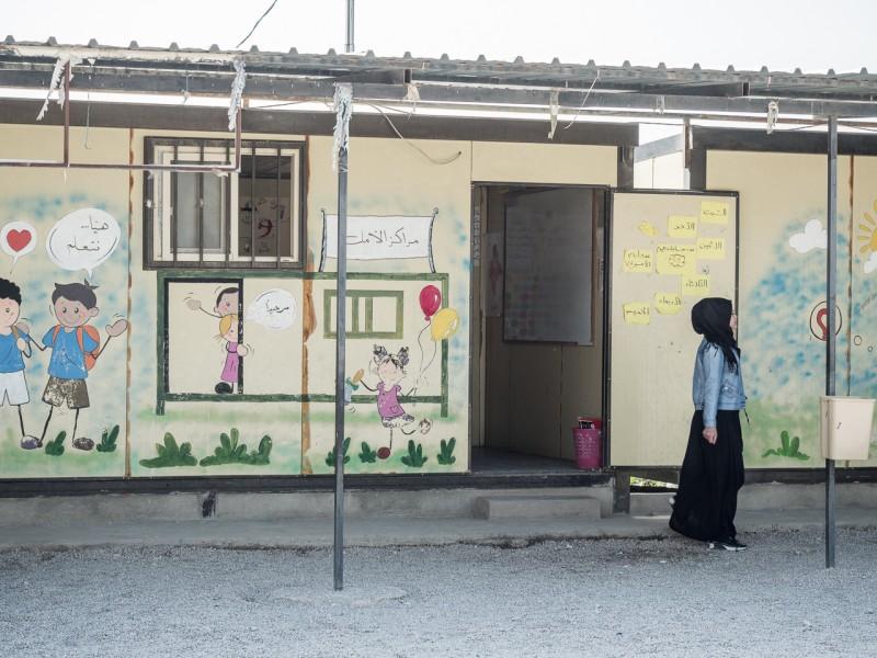 10- Acabada la educación elemental, los refugiados no tienen opción de seguir formándose.