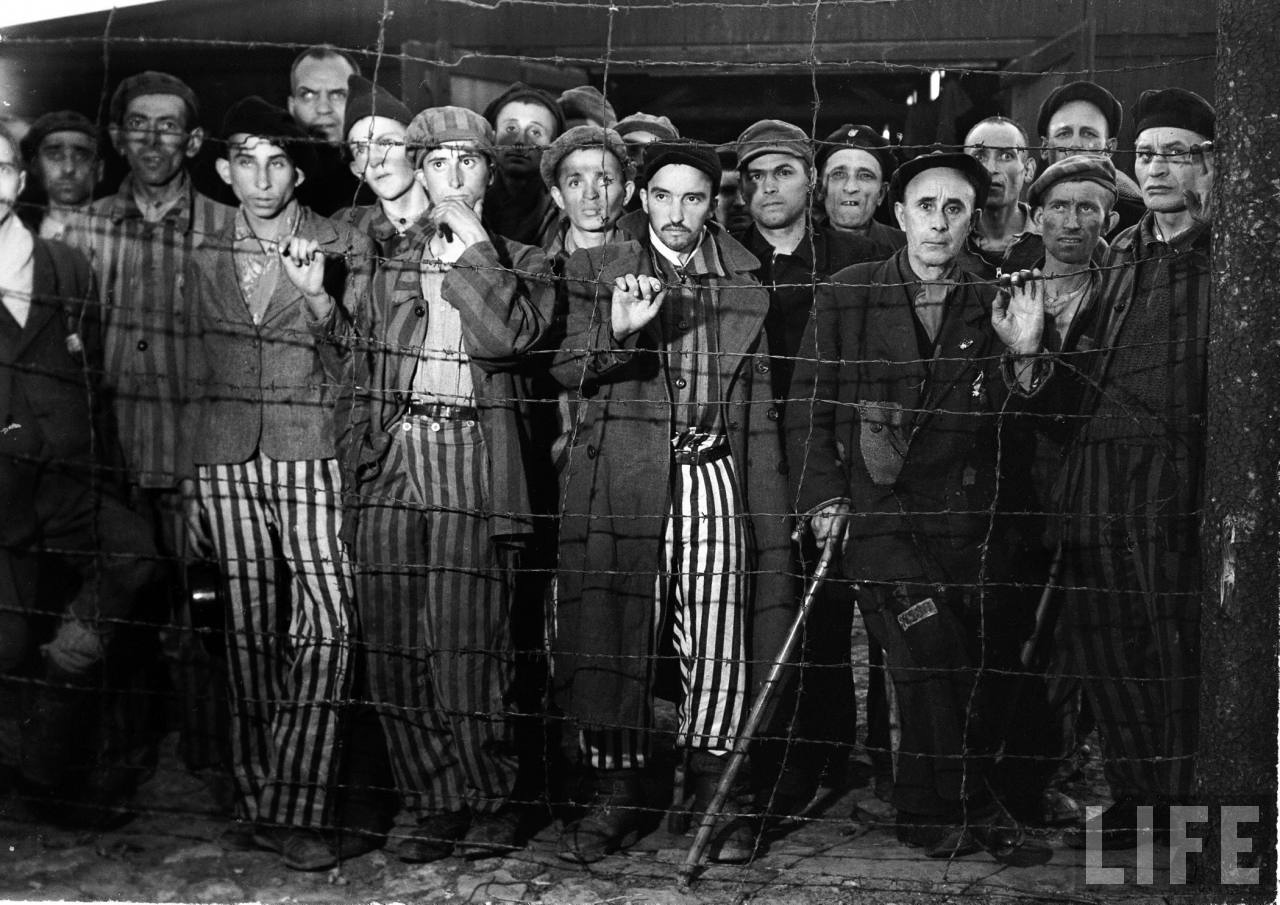 Una de sus fotografías del campo de concentración de Buchenwald