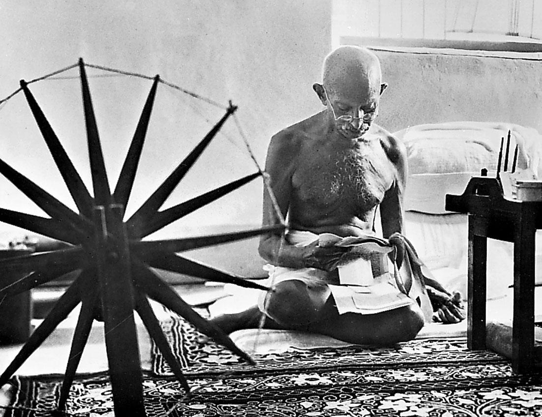 Última foto de Gandhi, de Margaret Bourke-White