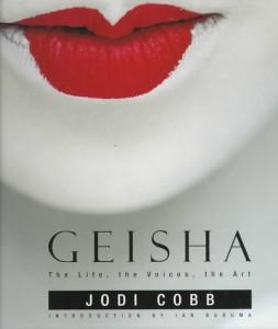 Portada del libro de Jodi Cobb, Geisha